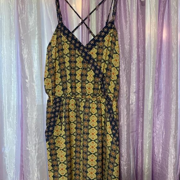 Xhilaration Dresses & Skirts - Multi colored sun dress.